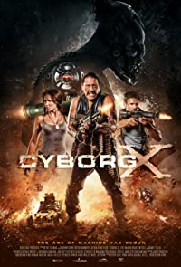 Cyborg X 2016 Poster
