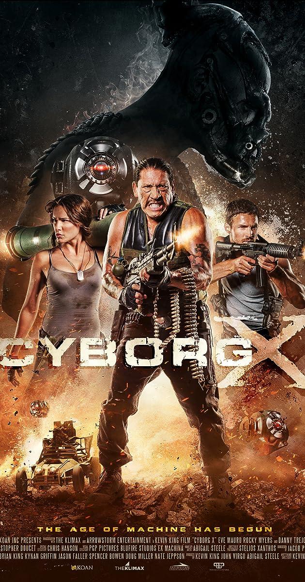 Cyborg X (2016) Bluray