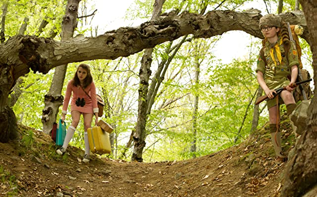Jared Gilman and Kara Hayward in Moonrise Kingdom (2012)