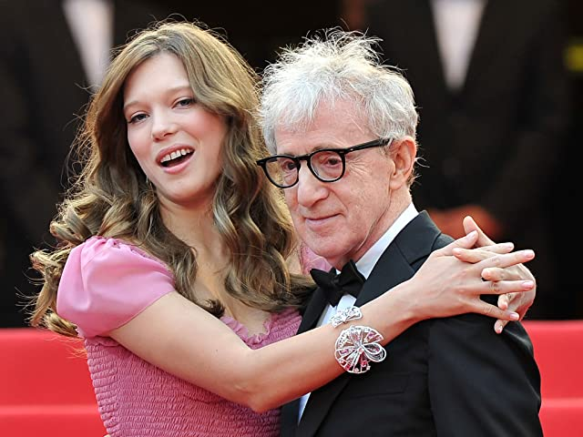 Woody Allen and Léa Seydoux at an event for Midnight in Paris (2011)