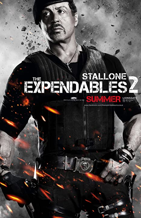 Sylvester Stallone in The Expendables 2 (2012)