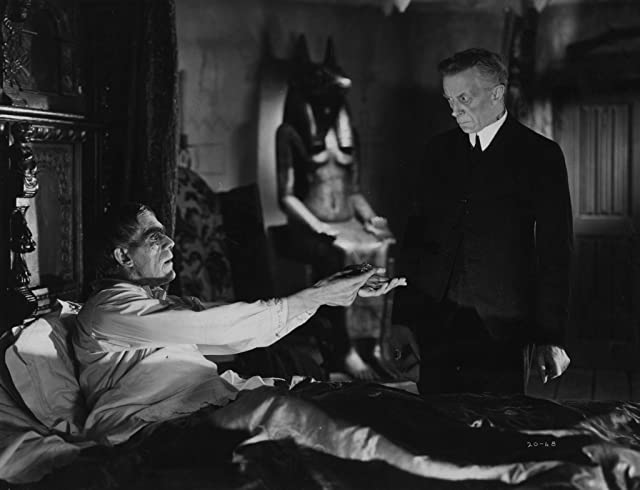 Boris Karloff and Ernest Thesiger at The Ghoul (1933)