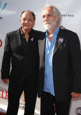 Tommy Chong and Cheech Marin
