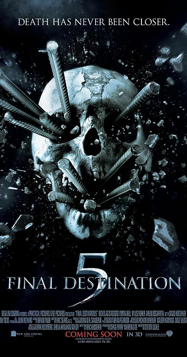 دانلود فیلم Final Destination 5 2011 مقصد نهایی 5 با دوبله فارسی و کیفیت عالی
