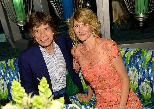 Laura Dern and Mick Jagger