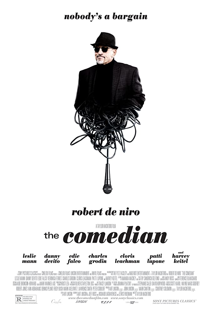 The Comedian 2016 DVDRip x264 600MB