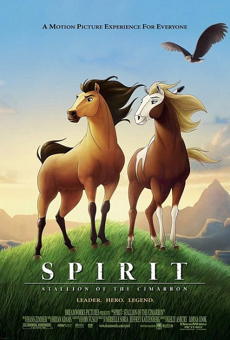 Spirit: Stallion of the Cimarron (2002) Cover