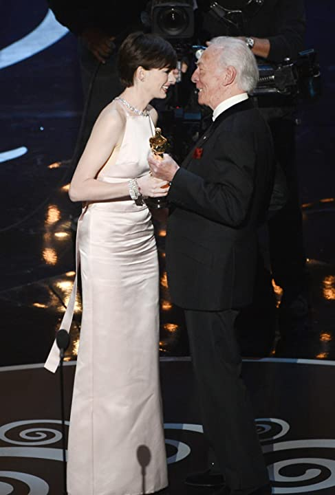 Christopher Plummer and Anne Hathaway at an event for The 85th Annual Academy Awards (2013)