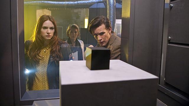 Jemma Redgrave, Matt Smith, and Karen Gillan in Doctor Who (2005)