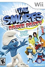 Smurf Dance Party Poster