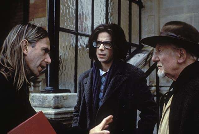 John Gielgud, Scott Hicks, and Noah Taylor in Shine (1996)