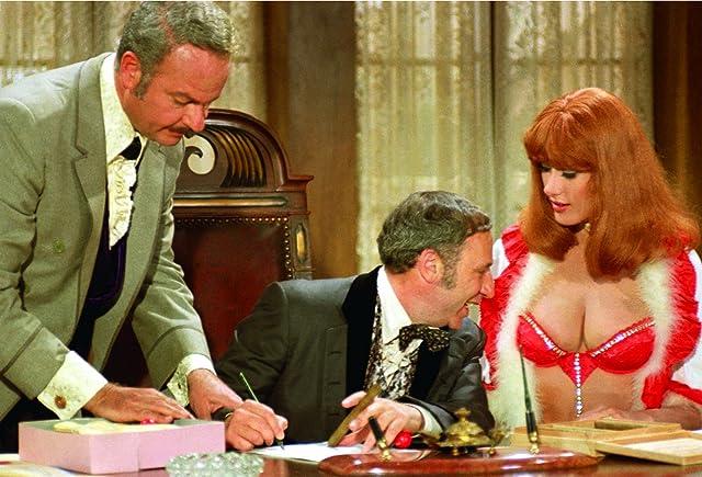 Mel Brooks, Robyn Hilton, and Harvey Korman in Blazing Saddles (1974)