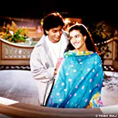 Kajol and Shah Rukh Khan in Dilwale Dulhania Le Jayenge (1995)