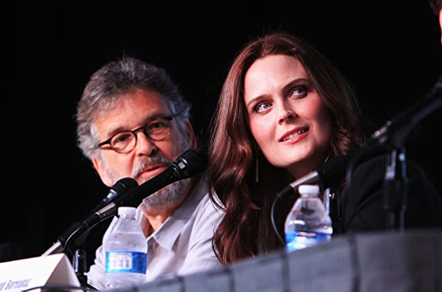 Emily Deschanel and Stephen Nathan at an event for Bones (2005)