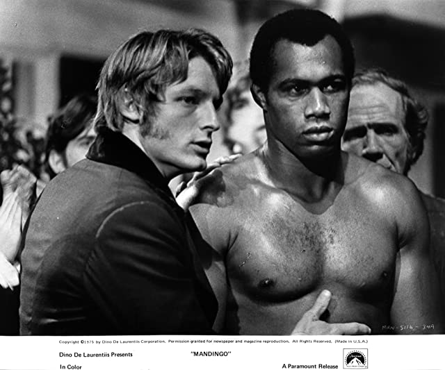 Perry King and Ken Norton at Mandingo (1975)