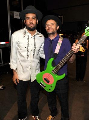 Flea and Ben Harper