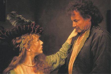 Klaus Maria Brandauer with Johanna ter Steege in Rembrandt