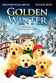 Golden Winter Poster