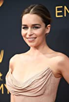 Emilia Clarke at The 68th Primetime Emmy Awards (2016)