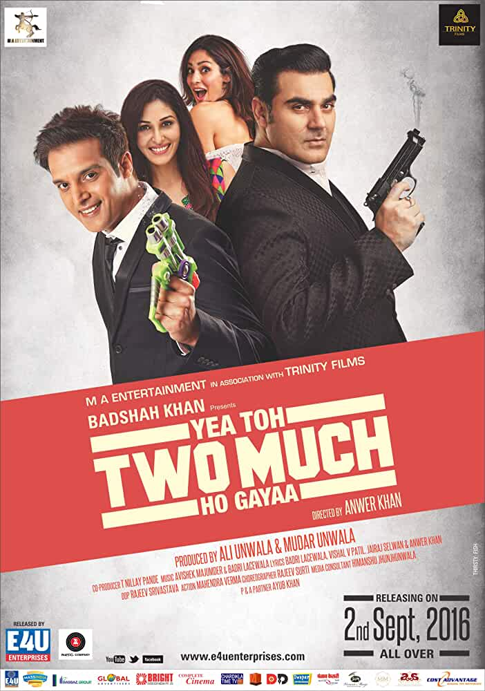 Yea Toh Two Much Ho Gayaa 2016 720p HDRip Watch Online Free Download