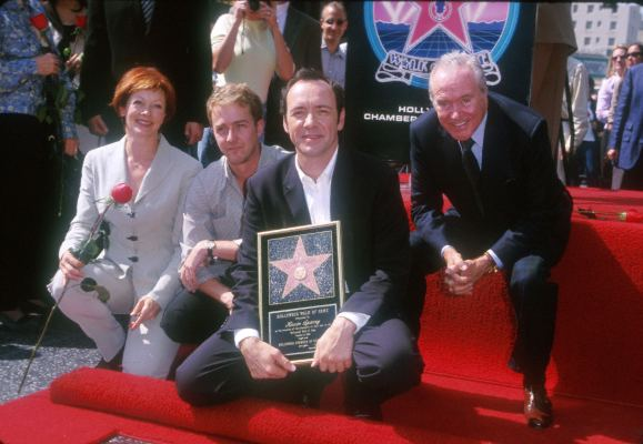 Kevin Spacey, Jack Lemmon, Edward Norton, and Frances Fisher