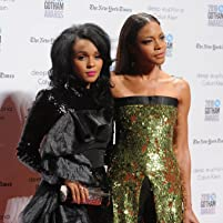 Naomie Harris and Janelle Monáe