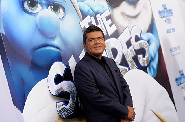 George Lopez at The Smurfs (2011)