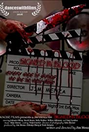 Signed in Blood Poster