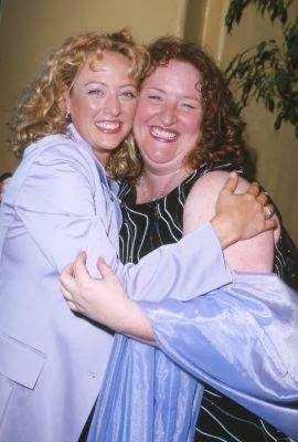 Virginia Madsen and Rusty Schwimmer at The Perfect Storm (2000)