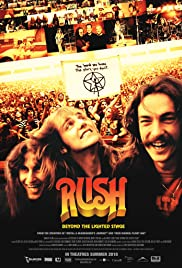 Rush: Beyond the Lighted Stage Poster