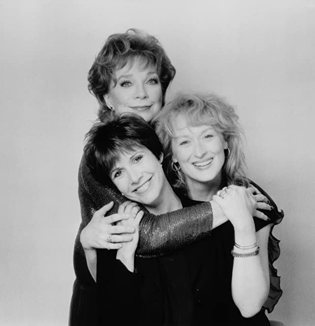 Carrie Fisher, Shirley MacLaine, and Meryl Streep in Postcards from the Edge (1990)