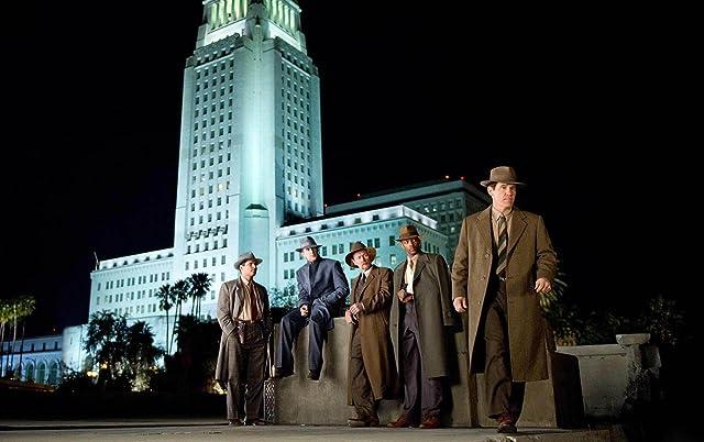 Josh Brolin, Robert Patrick, Ryan Gosling, Michael Peña, and Anthony Mackie in Gangster Squad (2013)
