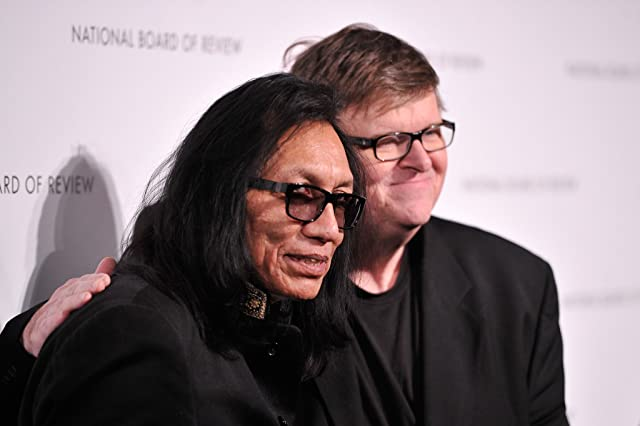Michael Moore and Rodriguez