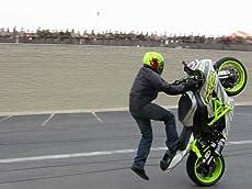 Marine Base Sportbike Stunt Show