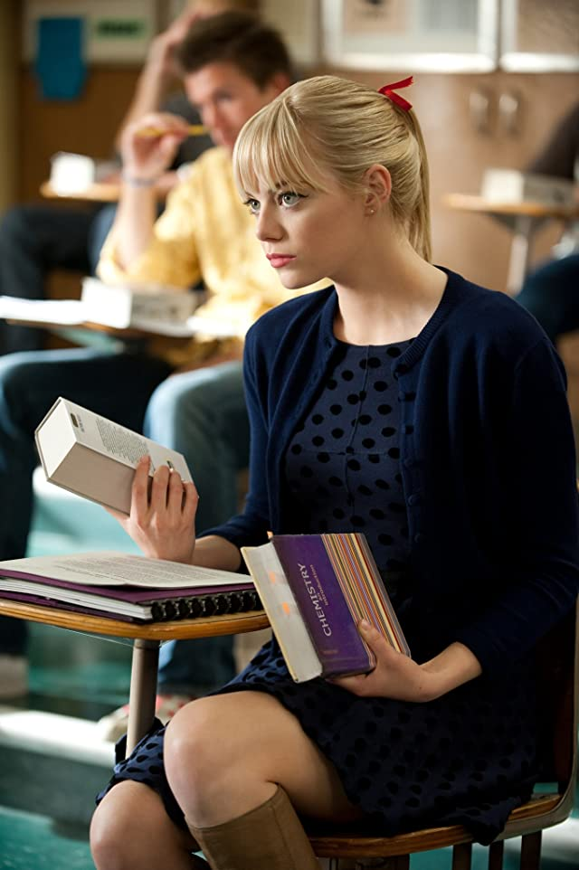 Still of Emma Stone in The Amazing Spider-Man
