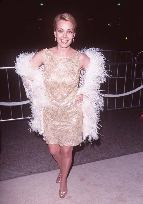 Gail O'Grady at an event for That Old Feeling (1997)