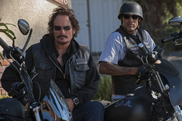 Kim Coates and David Labrava in Sons of Anarchy (2008)