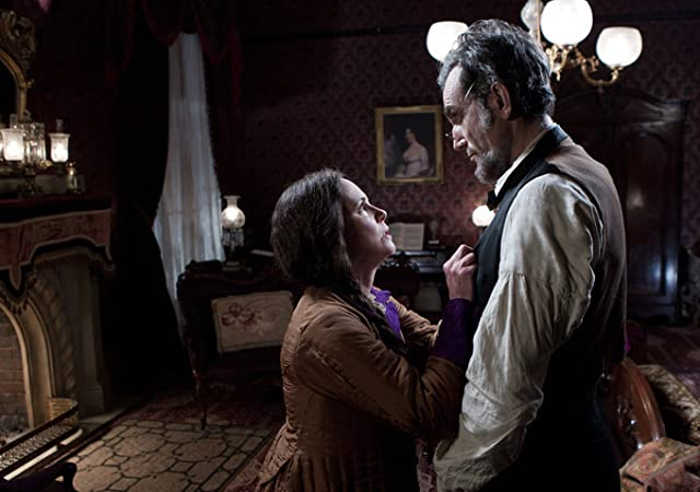 Daniel Day-Lewis and Sally Field in Lincoln (2012)