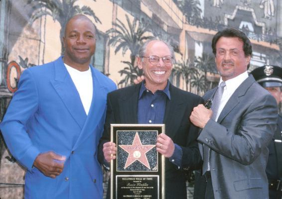 Sylvester Stallone, Carl Weathers, and Irwin Winkler