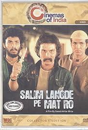 Salim Langde Pe Mat Ro Poster