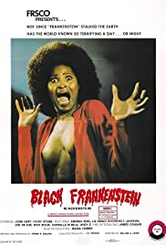 Blackenstein (1973) Poster - Movie Forum, Cast, Reviews