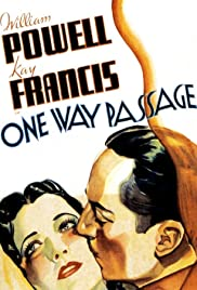One Way Passage (1932) Poster - Movie Forum, Cast, Reviews