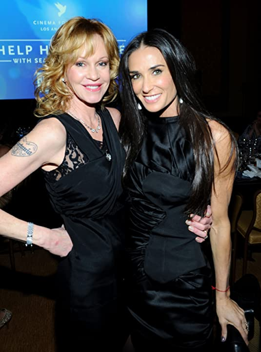 Demi Moore and Melanie Griffith