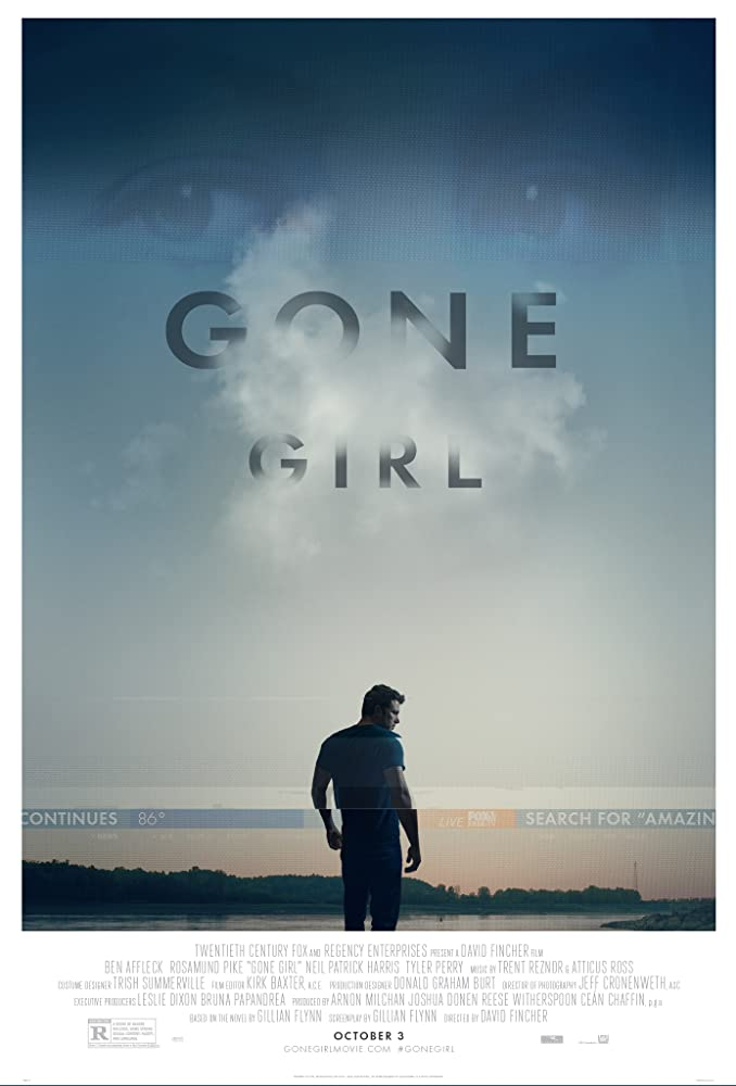 Gone Girl poster do filme