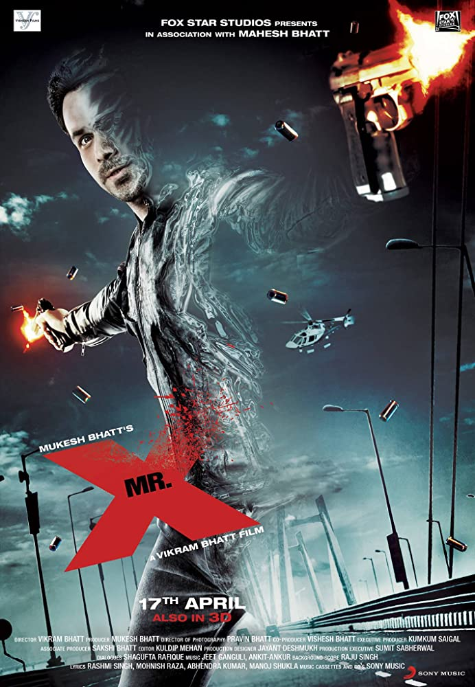 Mr. X 2015 720p HEVC WEB-DL 300MB Movies