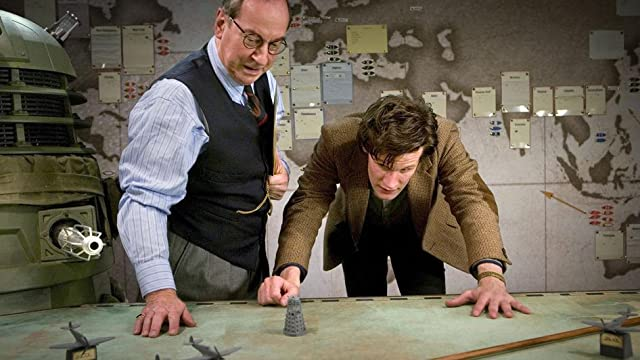 Bill Paterson and Matt Smith in Doctor Who (2005)