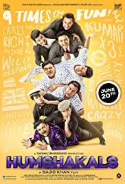 Humshakals (2014) Poster - Movie Forum, Cast, Reviews