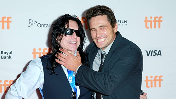 James Franco and Tommy Wiseau at an event for The Disaster Artist (2017)