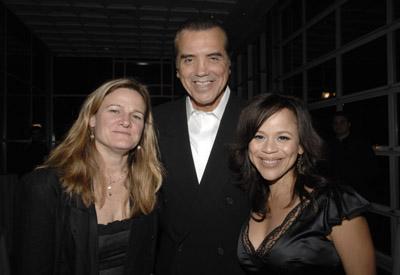 Chazz Palminteri, Rosie Perez, and Ellen Kuras
