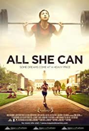 All She Can(2011) Poster - Movie Forum, Cast, Reviews